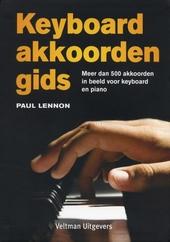 Keyboardakkoordengids : meer dan 500 akkoorden in beeld voor keyboard en piano