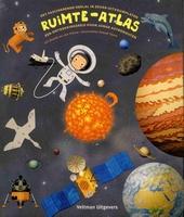 Ruimte-atlas : een ontdekkingsreis voor jonge astronauten : het fascinerende heelal in zeven uitvouwplaten