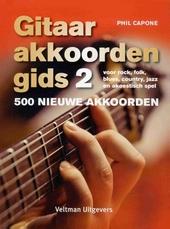 Gitaarakkoordengids 2 : 500 nieuwe akkoorden voor rock, folk, blues, country, jazz en akoestisch spel
