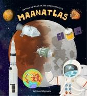 Maanatlas : ontdek de maan in zes uitvouwplaten