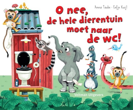 O nee, de hele dierentuin moet naar de wc!