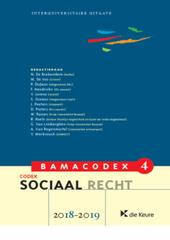 Codex sociaal recht 2018-2019
