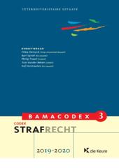 Codex strafrecht 2019-2020