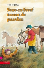 Suus en Steef tussen de paarden