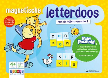 Magnetische letterdoos : met de letters van school