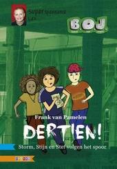 Dertien! : Storm, Stijn en Stef volgen het spoor