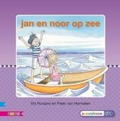 Jan en Noor op zee