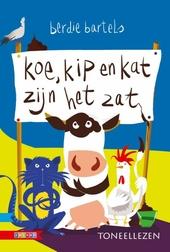 Koe, kip en kat zijn het zat