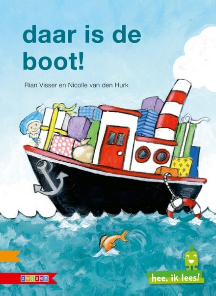 Daar is de boot!