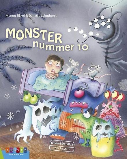 Monster nummer 10 : een griezelig telboek