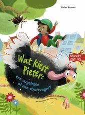Wat kiest Pieter : een vogelspin of een struisvogel?