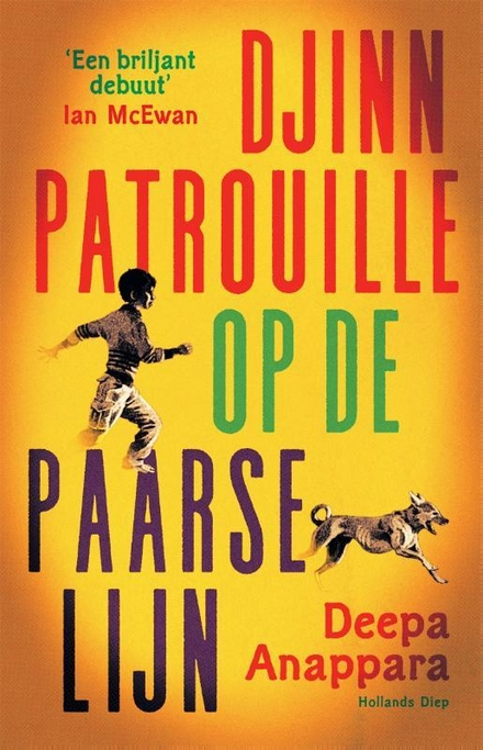 Djinn patrouille op de Paarse Lijn : roman - Ontroerend, snuifje humor, erg brutaal en totaal onvoorspelbaar
