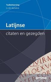 Latijnse citaten en gezegden