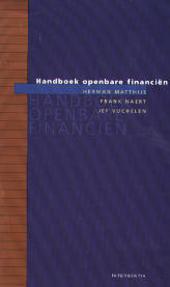 Handboek openbare financiën