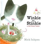 Winkie en Stinkie en het pluizige vogeltje