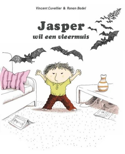 Jasper wil een vleermuis