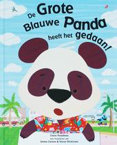 De grote blauwe panda heeft het gedaan!