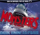 Monsters uit de diepte : een 3D virtueel pop-up boek