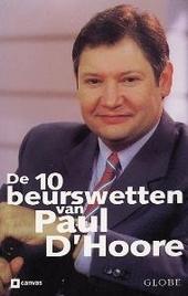 De 10 beurswetten van Paul D'Hoore