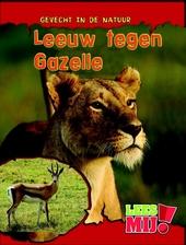 Leeuw tegen gazelle