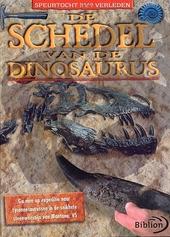 De schedel van de dinosaurus