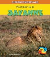 Onzichtbaar op de savanne