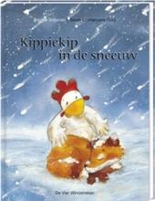 Kippiekip in de sneeuw