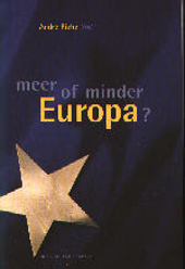 Meer of minder Europa ?