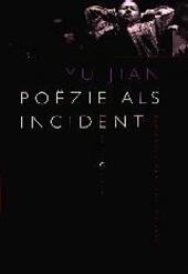Poëzie als incident