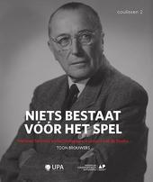 Niets bestaat vóór het spel : Herman Teirlinck en het pedagogisch project van de Studio