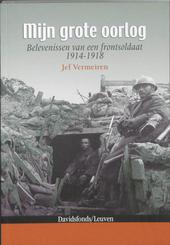 Mijn grote oorlog : belevenissen van een frontsoldaat 1914-1918