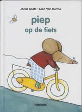 Piep op de fiets