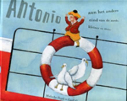 Antonio aan het andere eind van de aarde, kleiner en kleiner