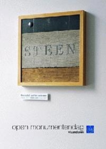Grondstof, stof tot nadenken : steen : Open Monumentendag Vlaanderen 2003