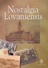 Nostalgia Lovaniensis : Rik Uytterhoeven vertelt in prentkaarten
