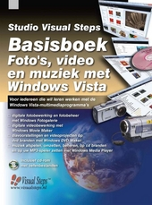Basisboek foto's, video en muziek met Windows Vista