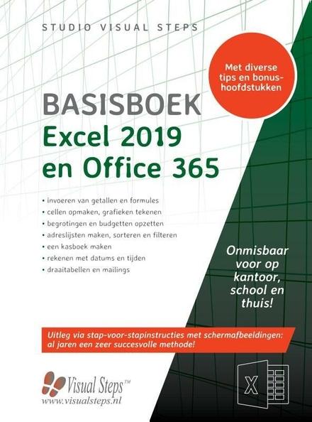 Basisboek Excel 2019,2016 en Office 365