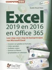 Computergids Excel 2019, 2016 en Office 365 : leer stap-voor-stap de basisprincipes van Microsoft Excel