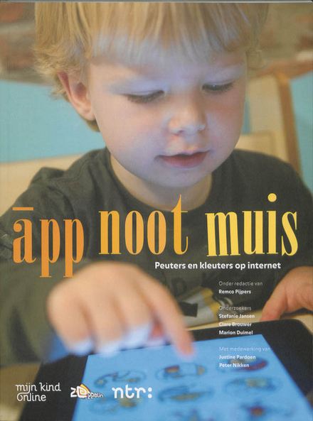 App noot muis : peuters en kleuters op internet