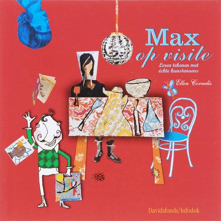 Max op visite : leren tekenen met échte kunstenaars