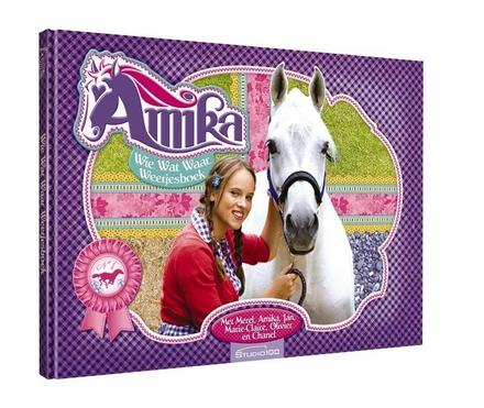 Amika : wie weet wat waar weetjesboek