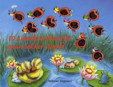 10 lieveheersbeestjes gaan lekker slapen