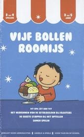 Vijf bollen roomijs : boek en spelvormen : tellen van 1 tot 5