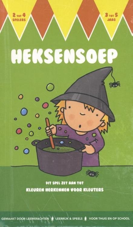 Heksensoep : boek met spelvormen : kleuren leren
