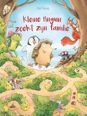 Kleine pinguïn zoekt zijn familie : een prentenboek vol doolhoven