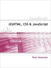 (X)HTML, CSS en JavaScript