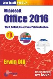 Microsoft Office 2016 : Word, Outlook, Excel, PowerPoint en OneNote