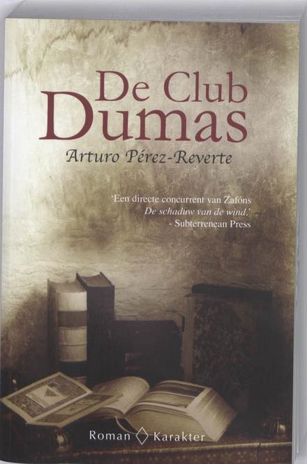 De club Dumas of De schaduw van Richelieu