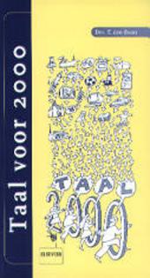 Taal voor 2000