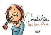 Cordelia leest haar bloem